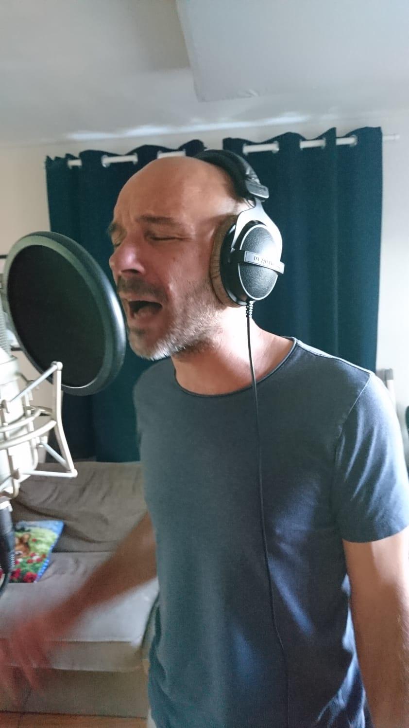 In de studio: Luc