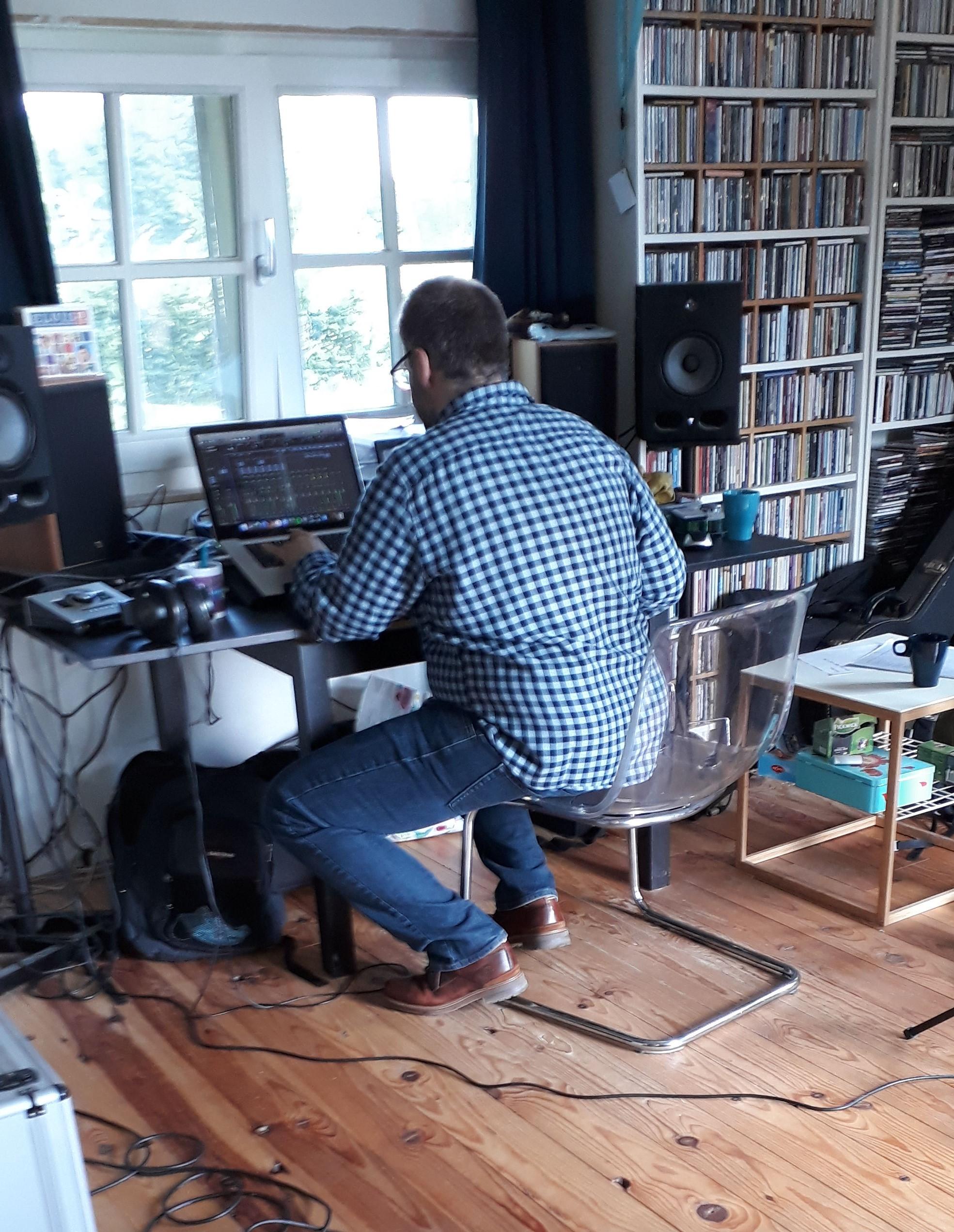In de studio: Janos